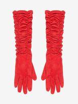 Alexander McQueen Suede Leather Glove