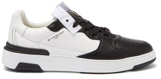 Givenchy Wing Bi-colour Leather Trainers - Black White