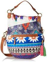 Desigual Across Body Bag Folded Happy Bazar