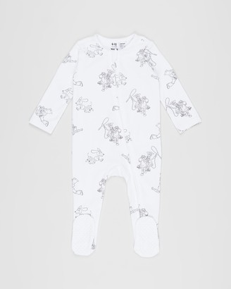 Cotton On Baby Licence The Long Sleeve Zip Romper - Babies