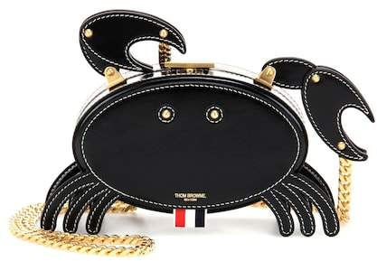 Thom Browne Crab leather shoulder bag