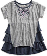Lucky Brand Justine Ruffle Top
