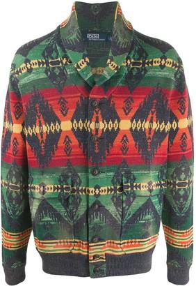 Polo Ralph Lauren Southwestern-style cardigan