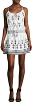 Calypso St. Barth Ullman Embroidered A Line Dress