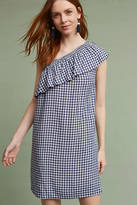 Velvet by Graham & Spencer Emmeline One-Shoulder Gingham Tunic Dress