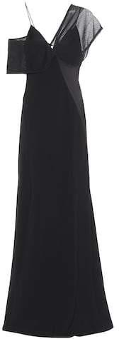 Diane von Furstenberg Crêpe gown