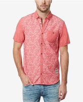 Buffalo David Bitton Men's Sarmac Floral-Print Cotton Pocket Shirt