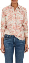 Brock Collection Women's Floral-Print Cotton Voile Shirt