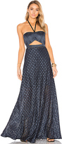 Alexis Abriana Gown in Blue. - size L (also in M,XS)