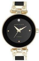 Anne Klein Women's Diamond Marker Bangle Watch, 28Mm