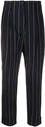Aspesi High Rise Cropped Trousers