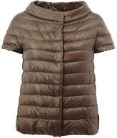 Herno wide collar puffer jacket