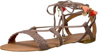 Qupid Women's Alanis-72ax Gladiator Sandal