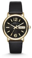 Marc by Marc Jacobs Women's MBM1388 Fergus Analog Display Analog Quartz Black Watch