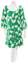 Diane von Furstenberg Adelaide Silk Dress