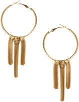 Gogo Philip Yasmin By Hoop Earrings with Chain Detail