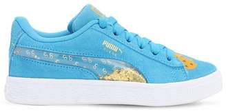 Puma Select BISCUIT PRINT SUEDE SNEAKERS