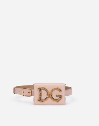 Dolce & Gabbana Calfskin Girls Belt