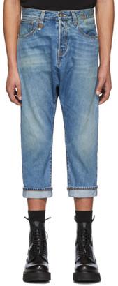 R 13 Blue Jonah Drop Jeans