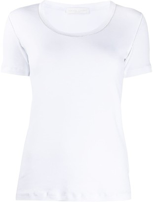 Fabiana Filippi studded collar T-shirt