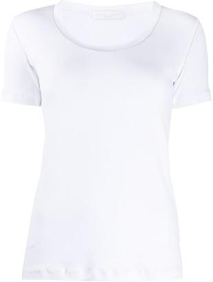 Fabiana Filippi studded collar T-shirt
