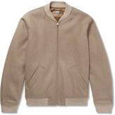 A.p.c. - Gaston Wool-blend Felt Bomber Jacket
