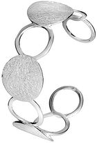 House of Fraser Azendi Silver circles cuff