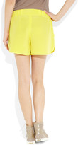 Mulberry Eyelet silk shorts