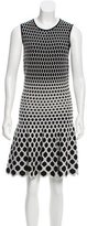 Alexander McQueen Patterned Midi Dress