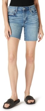 Joe's Jeans Melbourne Ripped Denim Bermuda Shorts