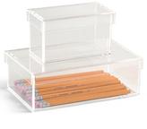 Acrylic Storage Boxes