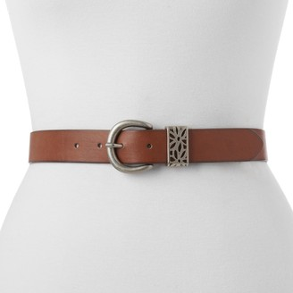 Women's Relic by Fossil Floral Cutout Belt