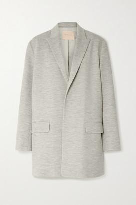 Roksanda Shida Wool-jersey Blazer - Gray
