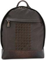 Santoni textured backpack