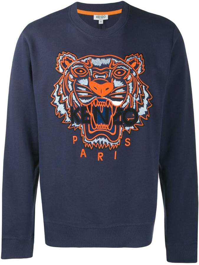 24125bc5b Kenzo Tiger Sweatshirt Men - ShopStyle