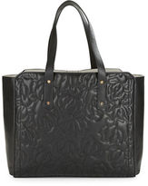 Ivanka Trump Floral Quilted Work Tote