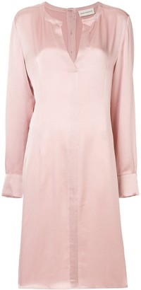 Mansur Gavriel V-Neck Tunic Dress