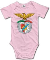 Enlove Benfica BABY Funny Short Sleeves Variety Baby Onesies Bodysuit For Babies Size 6 M