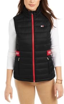 Tommy Hilfiger Quilted Logo Vest