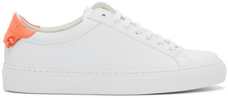 Givenchy White and Pink Urban Knots Sneakers