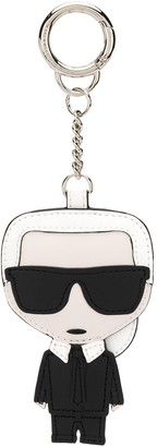 Karl Lagerfeld Paris embroidered keychain