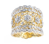 Jarin K Jewelry - Gold Floral Filigree Ring