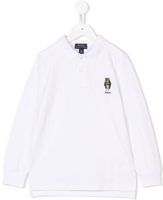 Ralph Lauren Kids longsleeved polo shirt