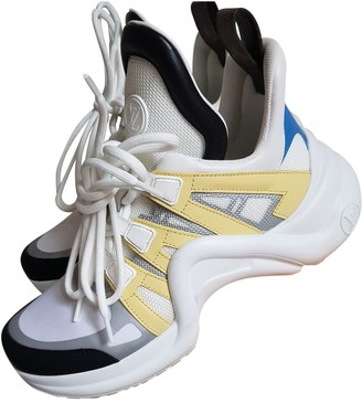 Louis Vuitton Archlight Yellow Cloth Trainers