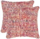 Safavieh 2-piece Carrie Throw Pillow Set