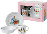 Wedgwood Peter Rabbit Girl's 3 Piece Set