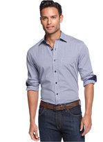 Tasso Elba Men's Long Sleeve Gingham Shirt