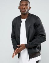 Criminal Damage Podium Zip Thru Bomber Jacket