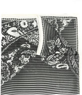 Etro striped patterned scarf