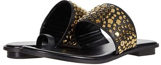 MICHAEL Michael Kors Sonya Studded Sandal (Black) Women's Shoes